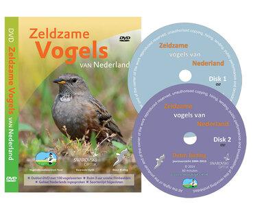 Dubbel DVD Zeldzame vogels van Nederland