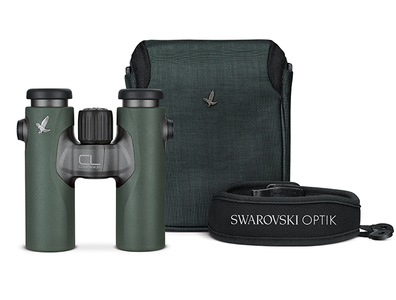 Swarovski CL 10x30 new groen + nature tas