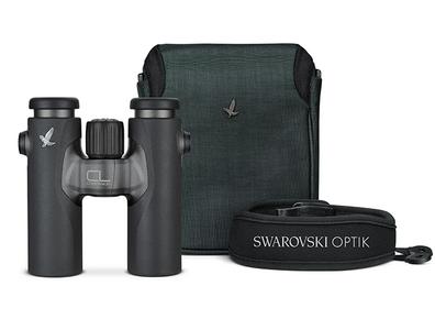 Swarovski CL 10x30 new antraciet + nature tas